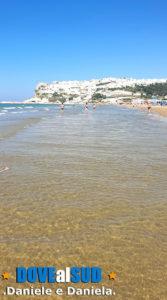 Peschici mare Gargano in Puglia