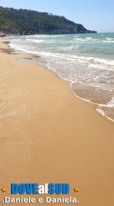 Peschici spiaggia sabbia dorata