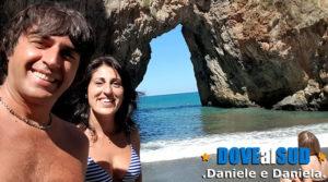 Spiaggia dell'Arcomagno in Calabria
