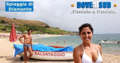 Spiaggia di Diamante mare (Cosenza, Calabria)