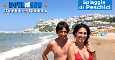 Spiaggia di Peschici e mare (Gargano, Puglia)