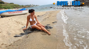 Spiaggia di sabbia d'oro Diamante