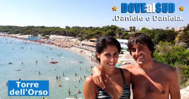 Spiaggia di Torre dell'Orso (Salento, Puglia)