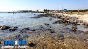 Mare e spiaggia scogli di Sant'Isidoro