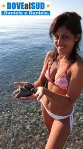 Spiaggia con pietre