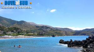 Praia a Mare spiaggia scogliera
