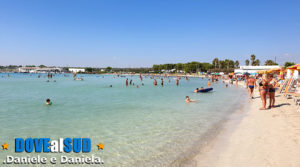 Sant'Isidoro spiaggia e mare (Puglia)