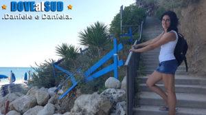 Scalinata per raggiungere la spiaggia e il mare