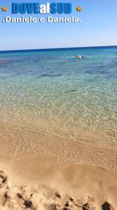 Spiaggia Campomarino di Maruggio e mare