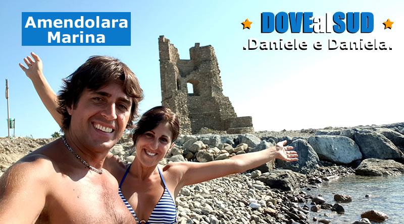 Spiaggia di Amendolara Marina e mare (Calabria)