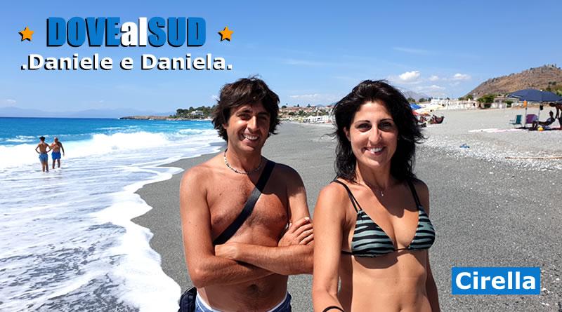 Spiaggia di Cirella e mare (Calabria)