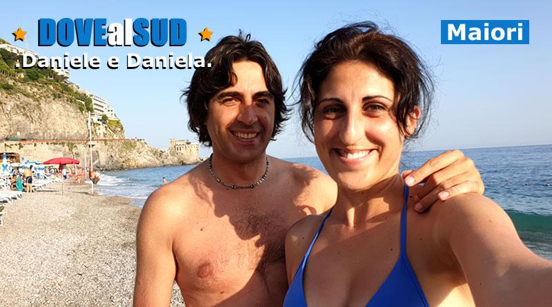 Spiaggia di Maiori e mare (Costiera Amalfitana)
