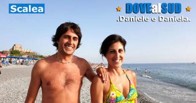 Spiaggia di Scalea e mare (Calabria)