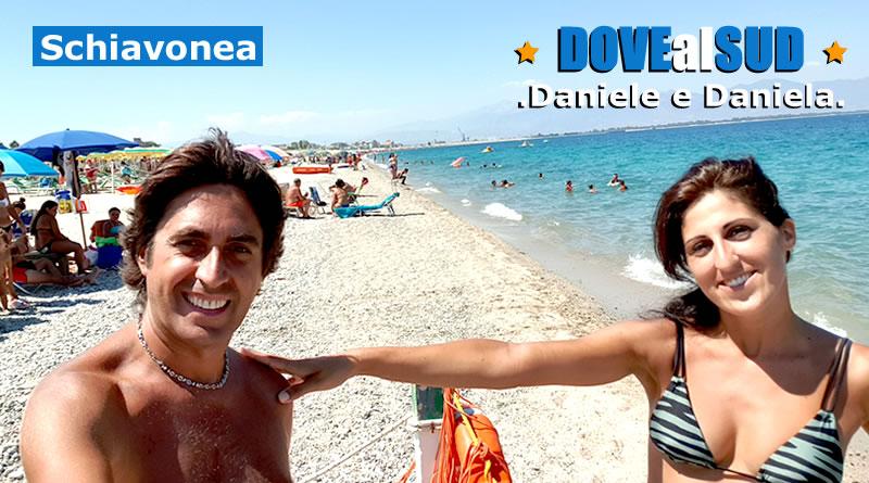 Spiaggia di Schiavonea e mare (Calabria)