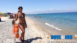 Spiaggia e mare di Schiavonea