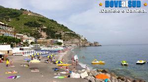 Spiaggia e mare della Costiera Amalfitana