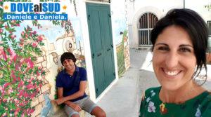Centro storico di Rodi Garganico in Puglia