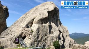Gradinata Normanna scavata nella roccia