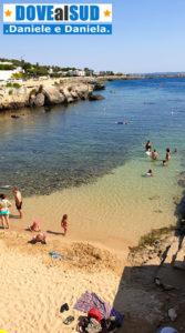 Santa Caterina spiaggetta di sabbia