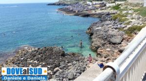 Santa Maria di Leuca spiagge con scogli