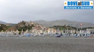 Scalea centro storico dal mare