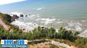 Scogli di Baia Camomilla mare Adriatico