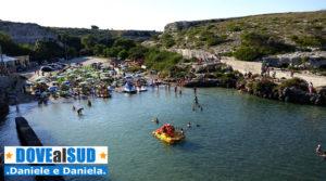 Spiaggia di Porto Badisco (Otranto, Lecce)