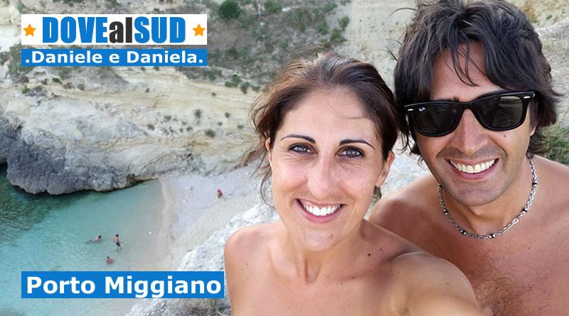 Spiaggia di Porto Miggiano e mare (Salento, Puglia)