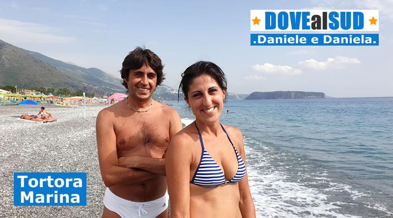 Spiaggia di Tortora Marina e mare (Cosenza, Calabria)
