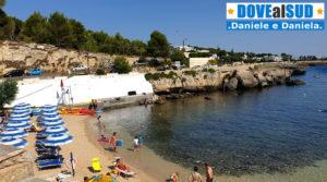 Spiaggia e mare di Santa Caterina in Puglia
