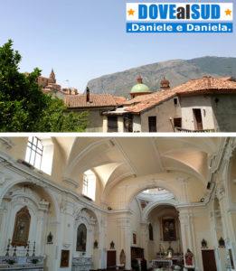 Cupola con maioliche chiesa di Maratea