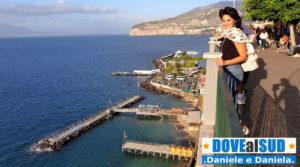 Belvedere porto e spiagge di Sorrento