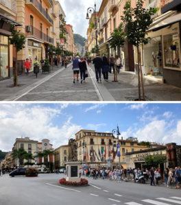 Corso Italia e Piazza Tasso