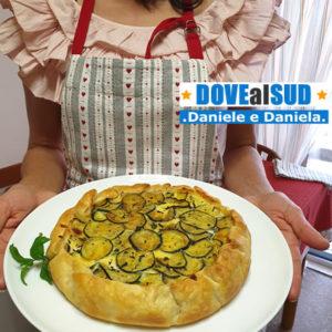 Pizza rustica con zucchine