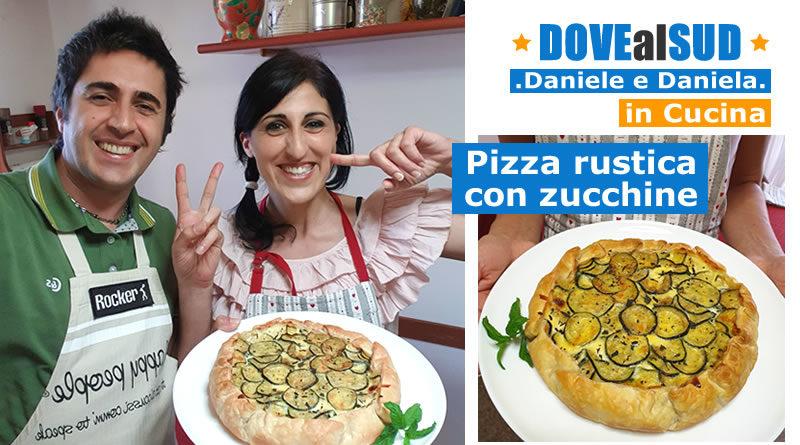 Ricetta pizza rustica con zucchine
