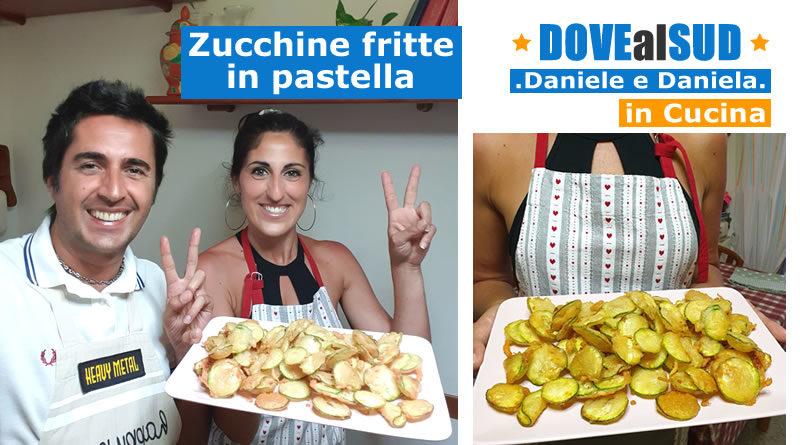 Ricetta zucchine fritte in pastella
