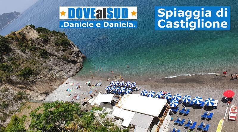 Spiaggia e mare di Castiglione (Ravello)