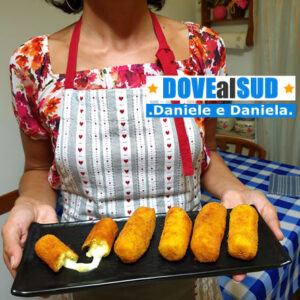 Crocchette di patate con mozzarella